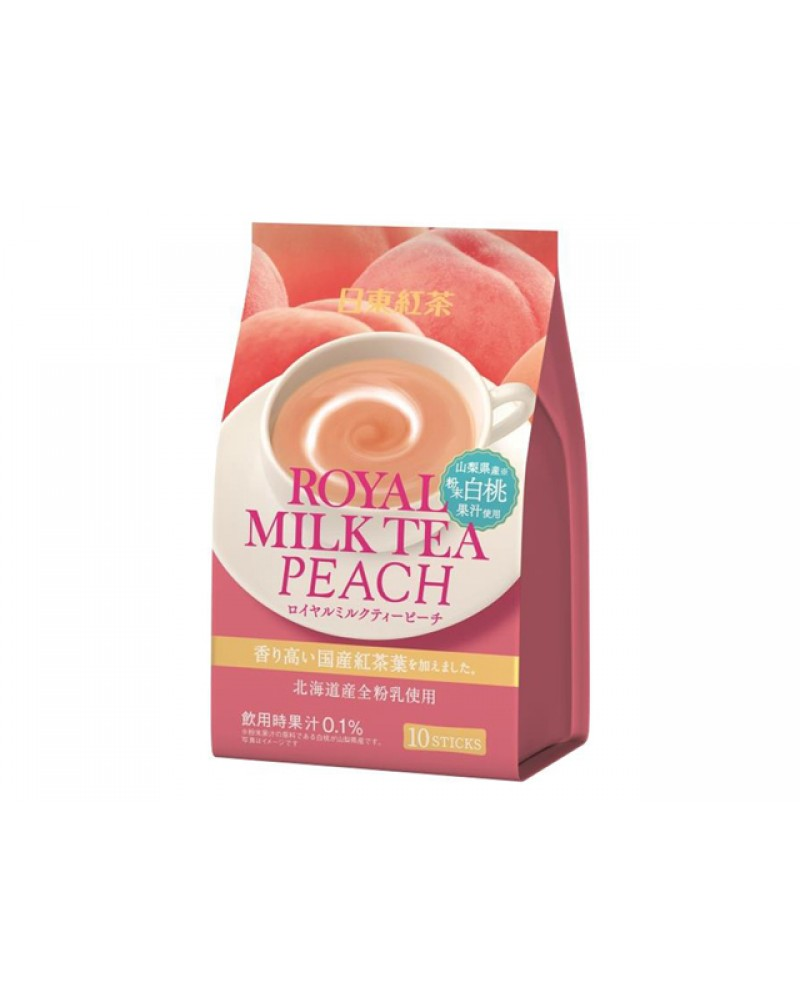 日東皇家牛奶茶桃10sticks 140g x6