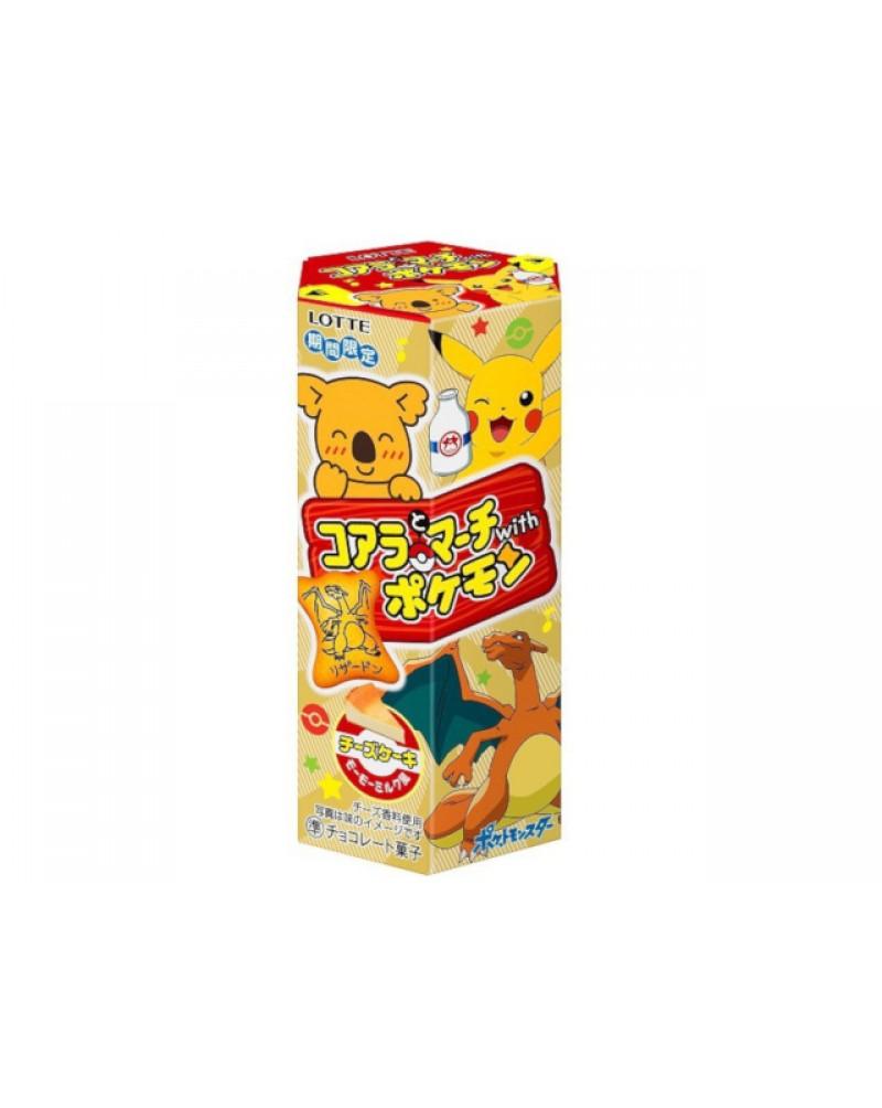 樂天熊仔餅 寵物小精靈 日本限定版 (芝士蛋糕味) 48GX10packages